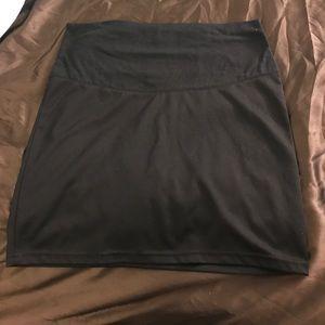 Dresses & Skirts - Black maternity skirt