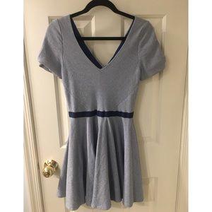 Z Spoke by Zac Posen Dresses & Skirts - NWT Zach Posen Blue Seersucker Dress
