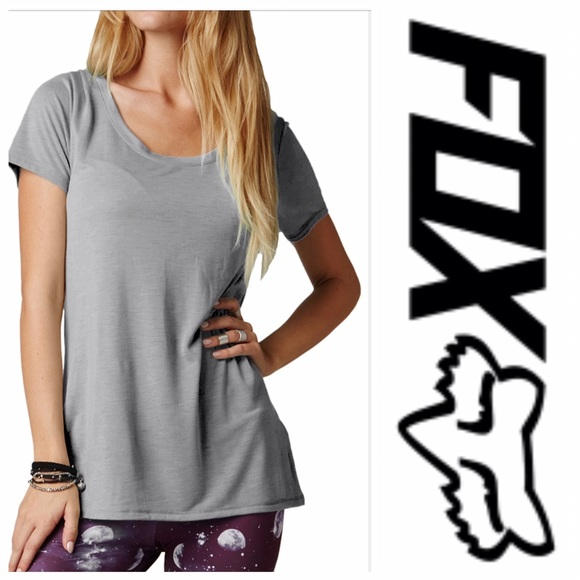 Fox Tops - 🆕Fox Juniors Miss Clean Scoop Tee