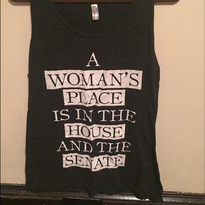 American Apparel Tops - American Apparel Woman's Place Tank