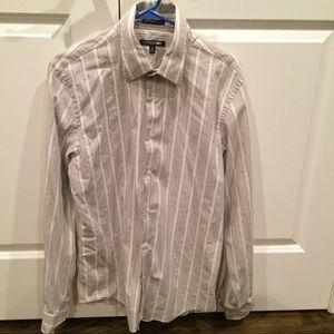 Express button down shirt size Medium