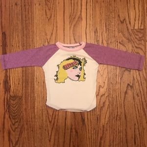 Rowdy Sprout Other - Rowdy Sprout Blondie Baseball Tee