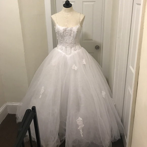 Weddingsweet 16 Gown From Davids Bridal