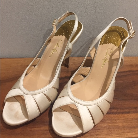 Sandals Haan Cream Shoes Nike Cole Satin Poshmark Wedding Air 1w0dpvq