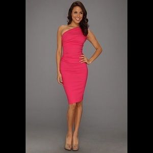 """Stop Staring Dresses & Skirts - Stop Staring Gathered """"Ava"""" One Shoulder Dress"""