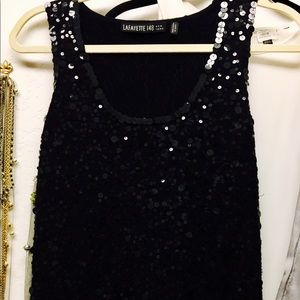 Lafayette 148 New York Tops - Fully sequined Lafayette 148 New York Tank