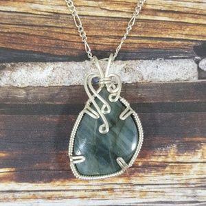 DGwiring Jewelry - LABRADORITE: strength, spritual energies, aura