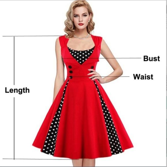 Retro style rockabilly plus size dress Boutique