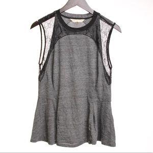 Rebecca Taylor Tops - Rebecca Taylor Peplum Sleeveless Shirt