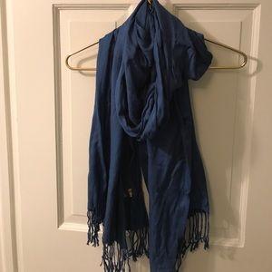 Accessories - Royal blue pashmina