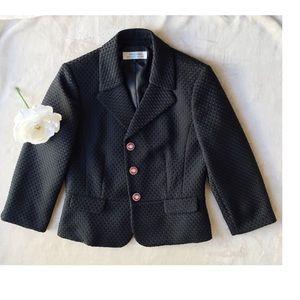 Tahari Jackets & Blazers - Tahari Arthur S. Levine Black Suit Jacket Size 8