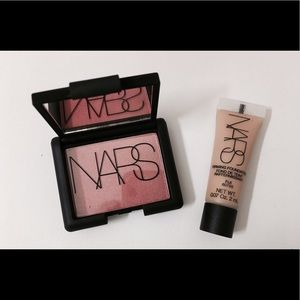 NARS Other - 🎉💕NARS travel bundle Orgasm blush & foundation