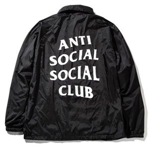 Anti Social Social Club Jackets & Blazers - Authentic Anti Social Social Club coach jacket