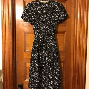 Brooklyn Industries  Dresses & Skirts - ⭐️ Black and While Star Dress!! ⭐️ beauty! ⭐️ M