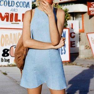 American Apparel Dresses & Skirts - American Apparel Lulu Denim Skirt