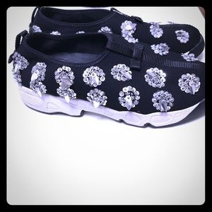 Christian Dior Shoes - Christian  DIOR EMBELLISHED FUSION SNEAKERS