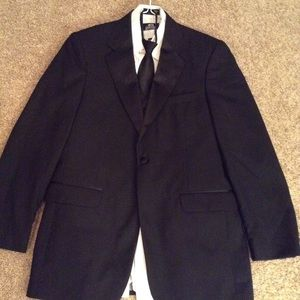 Stafford Other - Complete Black Tuxedo/ Suit