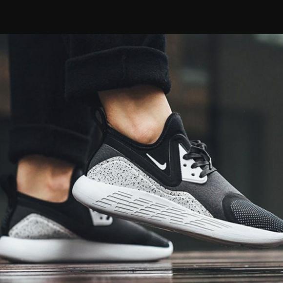 2017 Nike Lunarcharge premium LE All Black Women Shoes