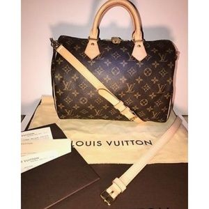 Louis Vuitton Handbags - Louis Vuitton Speedy 30 Bandouliere monogram