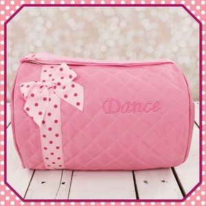 Quilted Dance Duffle Bag