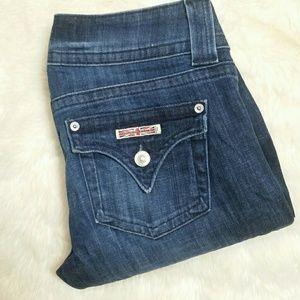 Hudson Jeans Denim - Hudson Signature Bootcut Flap Pocket Jeans Size 27