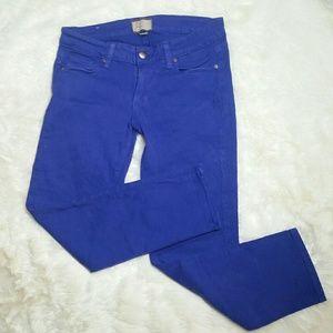 Paige Jeans Denim - Paige Denim Roxie Capri Skinny Crop Jeans Size 27