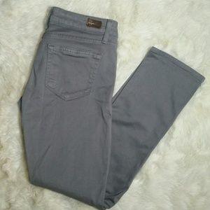 Paige Jeans Denim - Paige Roxbury Crop Stretch Ankle Skinny Size 27