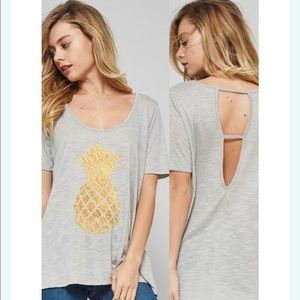 Tops - Pineapple shirt