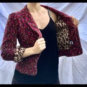 Dolce & Gabbana Jackets & Blazers - Dolce & Gabbana D&G velvet floral blazer