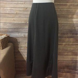 Ellos Dresses & Skirts - Gray Knit Maxi Skirt Ellos Sz 18