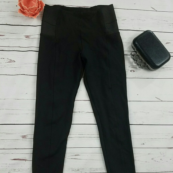 Zara Basic Black Body Shaping Leggings- Size Small