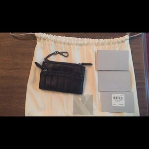 Reed Krakoff Accessories - NEW Authentic Reed Krakoff Black Leather key ring