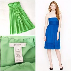 J. Crew Dresses & Skirts - j.crew juliet dress in silk chiffon
