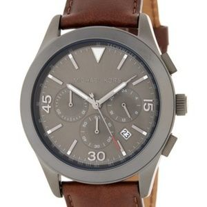 Michael Kors Other - Men's Michael Kors Leather Watch