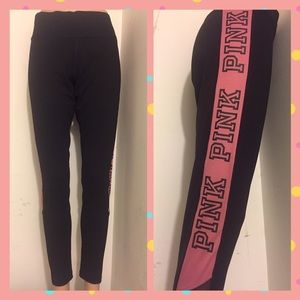 PINK Victoria's Secret Pants - 🌺🌺ultimate pink Victoria's Secret yoga leggings