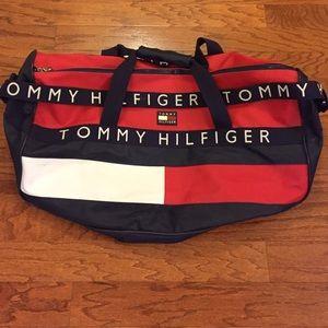 Tommy Hilfiger Other - Vintage Large Tommy Hilfiger Duffle Bag