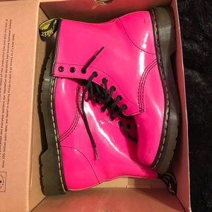 Dr. Martens Shoes - Vintage Pink Dr. Martens boots