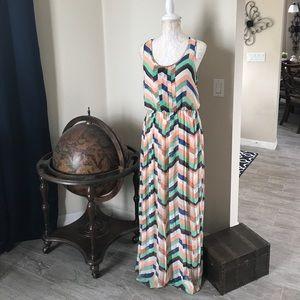 Takara Dresses & Skirts - Elegant Chiffon Takara Summer Maxi Dress