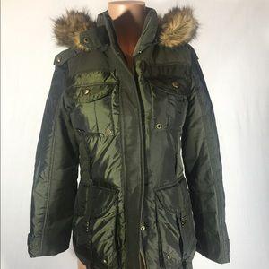 Miss Sixty Jackets & Blazers - Miss Sixty army green parka jacket sz: S