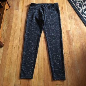 90 Degree By Reflex Pants - 90 degree black and white heather leggings