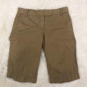 "J. Crew Pants - J. Crew ""Broken In"" Chino Shorts Size 2"