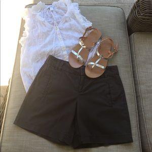 Loft Brown Chino Shorts