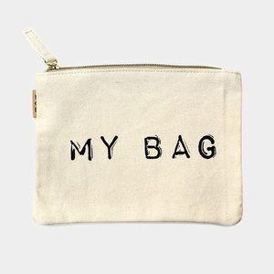 Hannah Beury Handbags - My Bag Cotton Canvas Eco Pouch