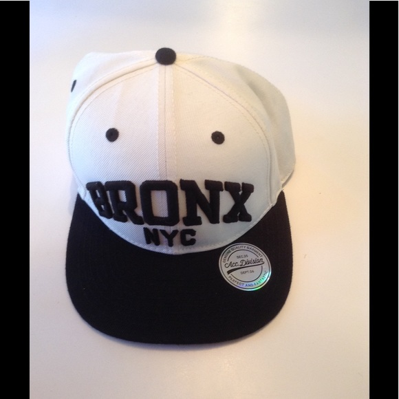 Sporty white Bronx nyc baseball cap H and M new 1087d1ea134