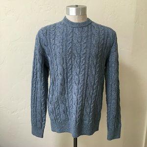 GAP Other - GAP grey blue wool sweater Large