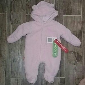 Magnificent Baby Other - Newborn Girl Fleece Hooded Pram