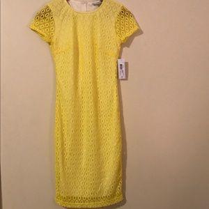 Bisou Bisou Dresses & Skirts - Yellow Dress