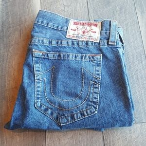 Mens True Religion Bobby Jeans 36x33 EUC
