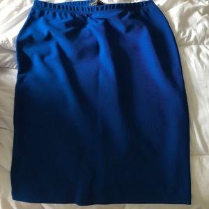 Forever 21 Dresses & Skirts - Blue Forever 21 Plus Pencil Skirt