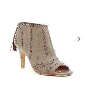 torrid Shoes - Torrid Grey Wide Stitch Booties (Wide Width)
